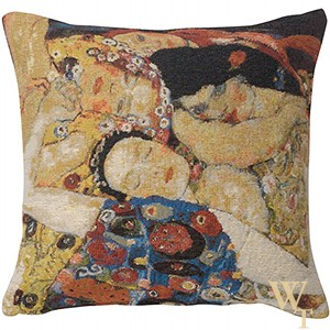 Virgin Faces Klimt Cushion Cover