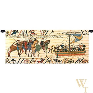 William Embarks - No Border Tapestry