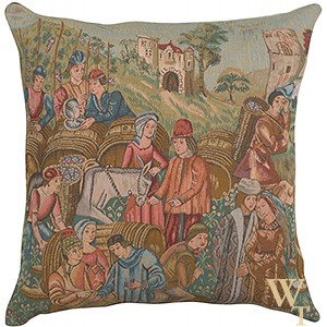 Wine Making Cushion Cover I
