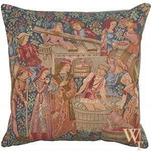 Wine Making Cushion Cover III