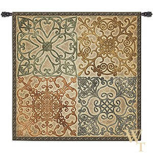 Wrought Iron Elegance Tapestry